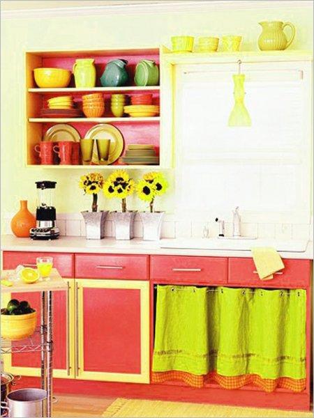 Colorful-Kitchen-Design-Ideas-bright-and-sunny-kitchen