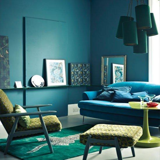 Midnight-blue-living-room