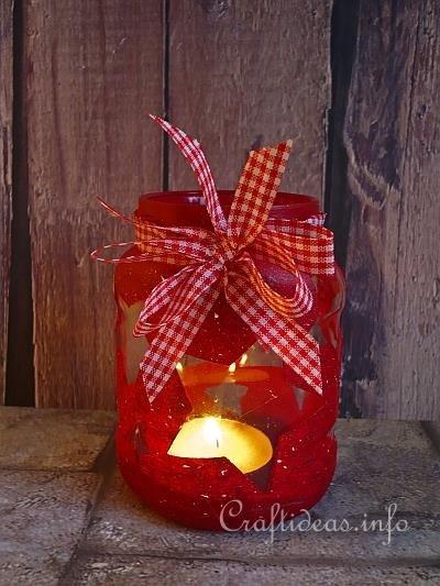Recycling_Craft_-_Christmas_Tea_Light_Hurricane_Glass