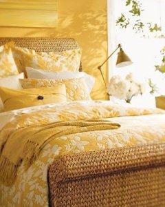 Yellow Songbird Bedding - Pottery Barn