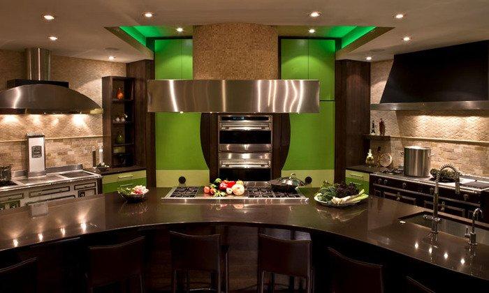 modern big kitchen design