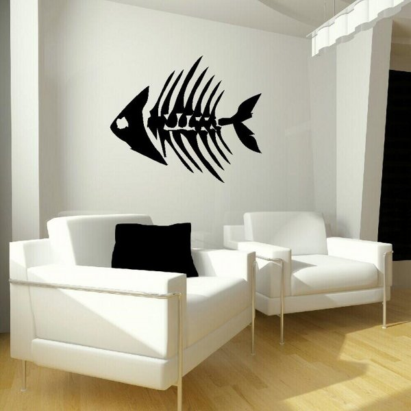 Black-and-white-interior-design-ideas-wall-mural-living-room-ideas