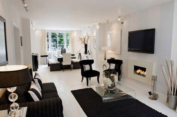 black-and-white-living-room-decor-ideas-modern-living-room-design-black-sofa-carpet
