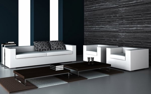 black-and-white-living-room-design-white-sofa-armchairs-black-coffee-tables