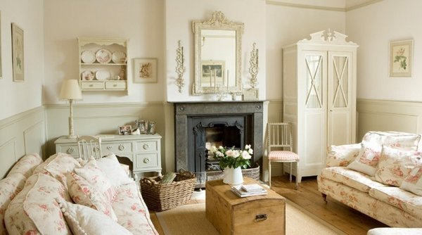 elegant-shabby-chic-living-room-ideas-floralpattern-upholstery-white-furniture-chest