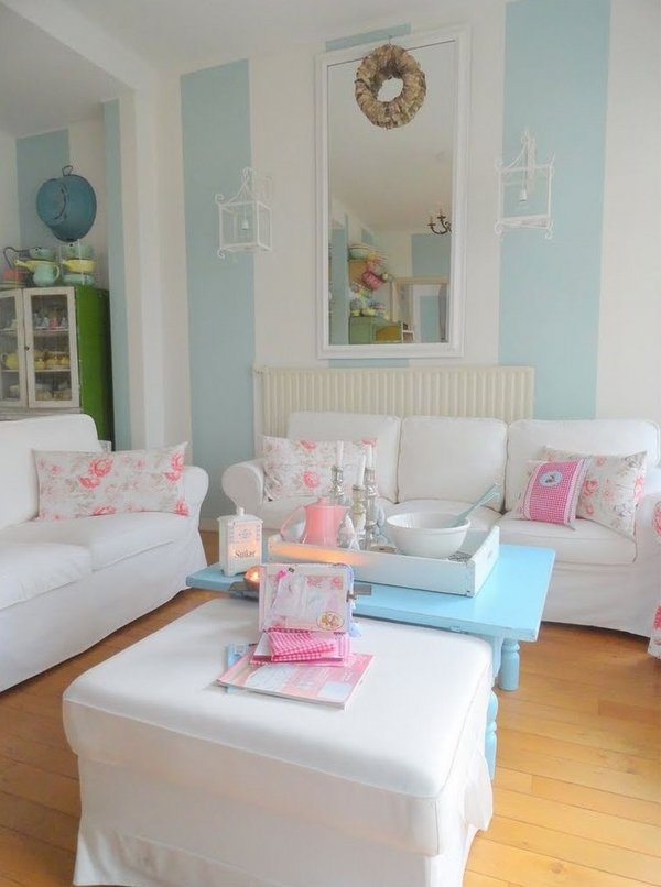 elegant-shabby-chic-living-room-interior-design-pastel-blue-wall-colors-white-furniture-pink-accents