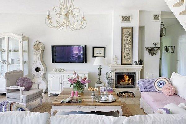 shabby-chic-living-room-decor-interior-design-ideas-vintage-furniture-fireplace